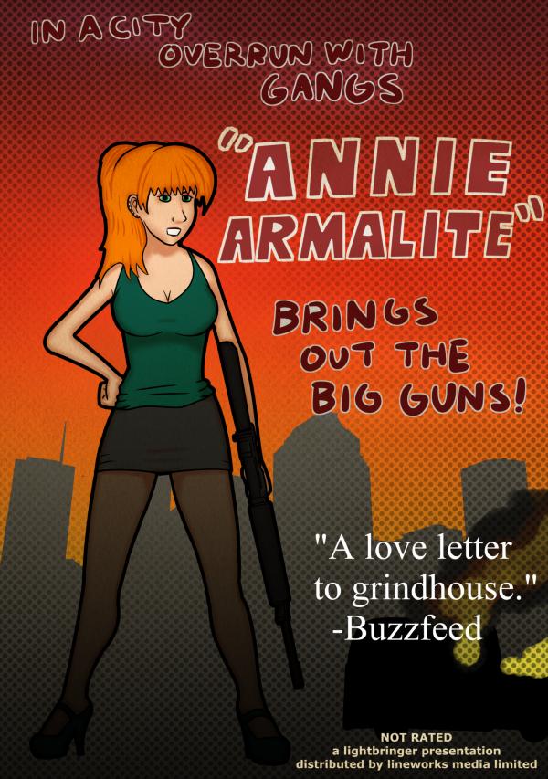 Annie Armalite by lirvilas