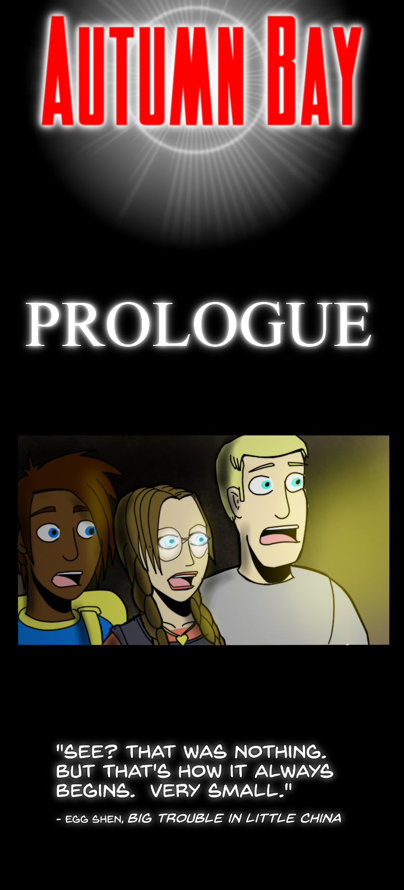 Season One Prologue - Cover
